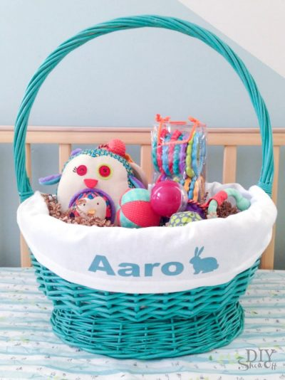 DIY Show Off: Customizable Easter Basket Liner Pattern
