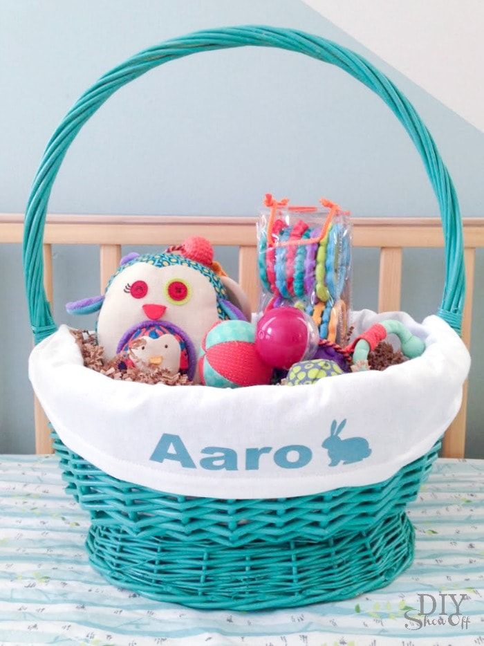 40 easter sewing projects ideas the polka dot chair diy show off customizable easter basket liner pattern negle