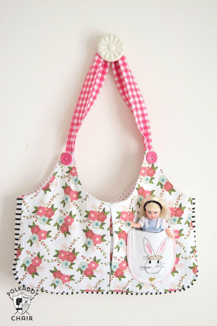 Ruby Lou Child's Bag Sewing Pattern | Digital PDF Pattern
