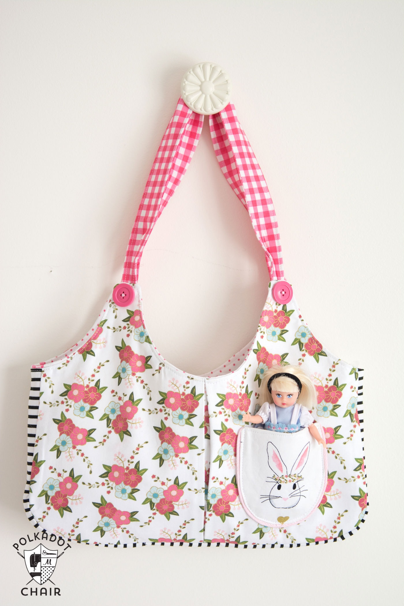 Ruby Lou Bag Sewing Pattern from polkadotchair.com