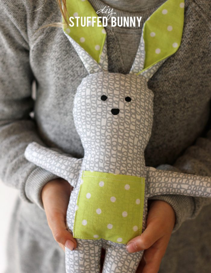 Stuffed Bunny Pattern from Alice & Lois