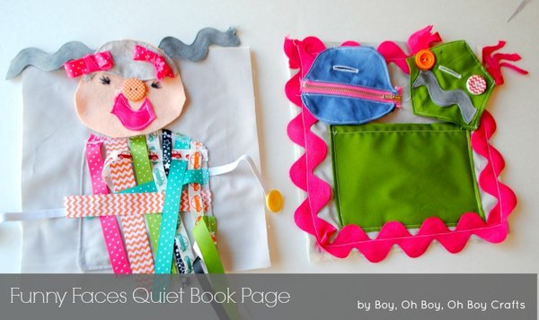 Quiet Book Page Tutorial