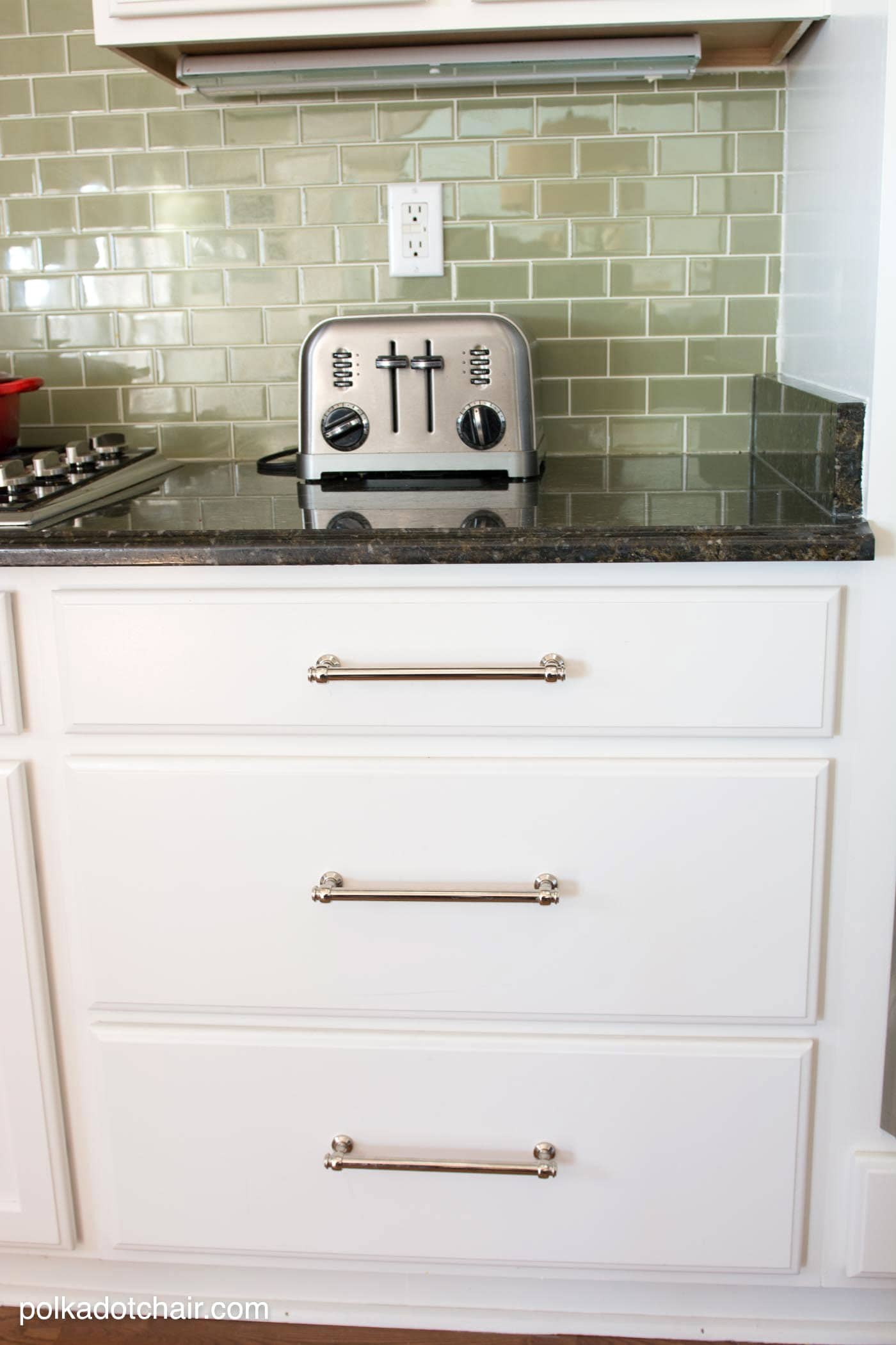 Painted Kitchen Cabinet Ideas And Kitchen Makeover Reveal The Polka Dot Chair