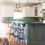 Painted Kitchen Cabinet Ideas and Kitchen Makeover Reveal