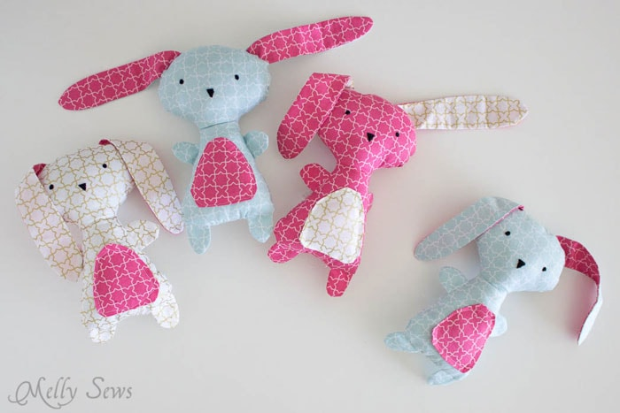 Diy easter bunny easter dress ideas the polka dot chair cute diy easter bunny sewing pattern from mellysews negle Image collections