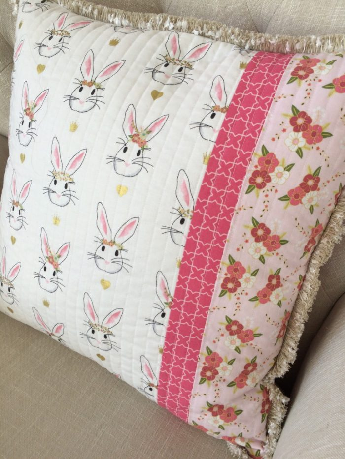 Wonderland Pillow by Jedi Craft Girl