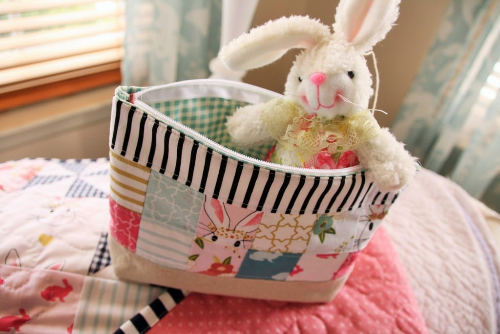 Pinwheel quilt easter dress ideas the polka dot chair patchwork zippered pouch by emily anns kloset negle Choice Image