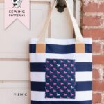 A New Tote Bag Sewing Pattern