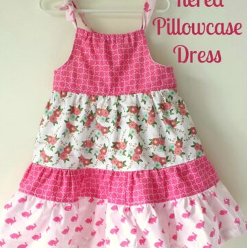 Tiered Pillowcase Dress Tutorial