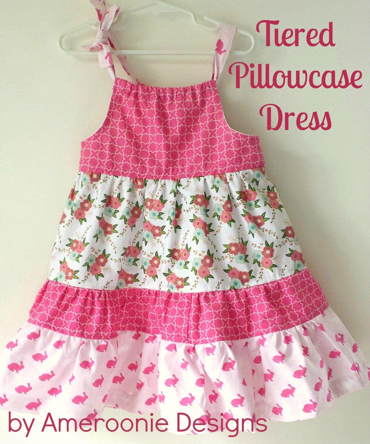 Tiered Pillowcase Dress Tutorial: Tiered Pillowcase Dress Tutorial   The Polka Dot Chair,
