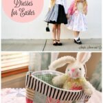 Pinwheel Quilt & Easter Dress Ideas