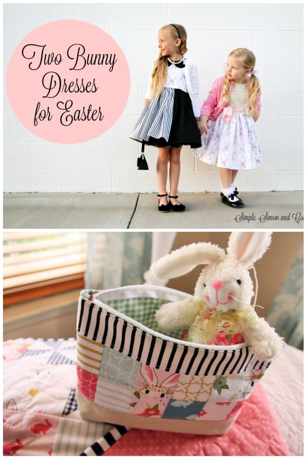 Pinwheel Quilt & Easter Dress Ideas