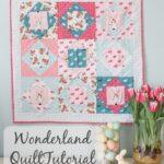 Square in Square Quilt Block Tutorial & Wonderland Apron
