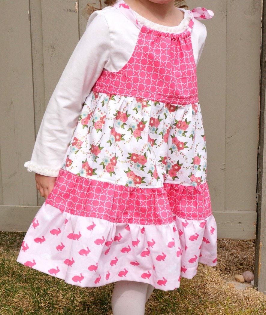 Tiered Pillowcase Dress Tutorial - The Polka Dot Chair