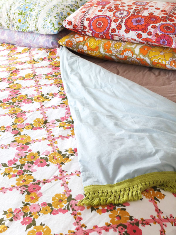 Vintage Sheet Duvet Cover