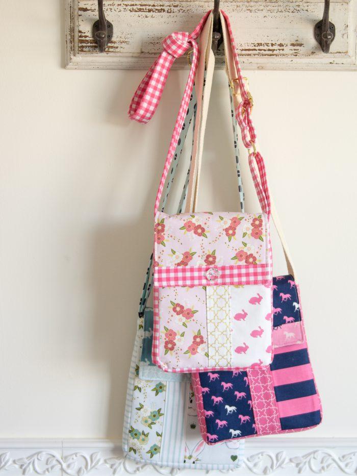 June Bag; Cross Body Bag Sewing Pattern PDF