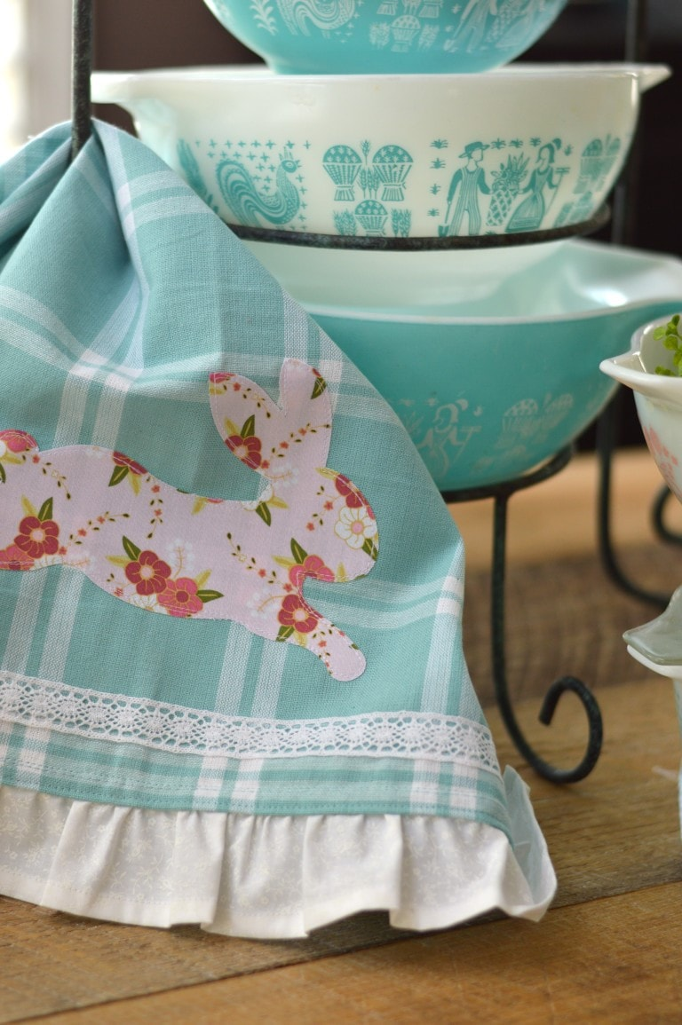 Bunny Tea Towels by Jedi Craft Girl