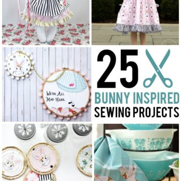 More than 25 Bunny Inspired Sewing Projects