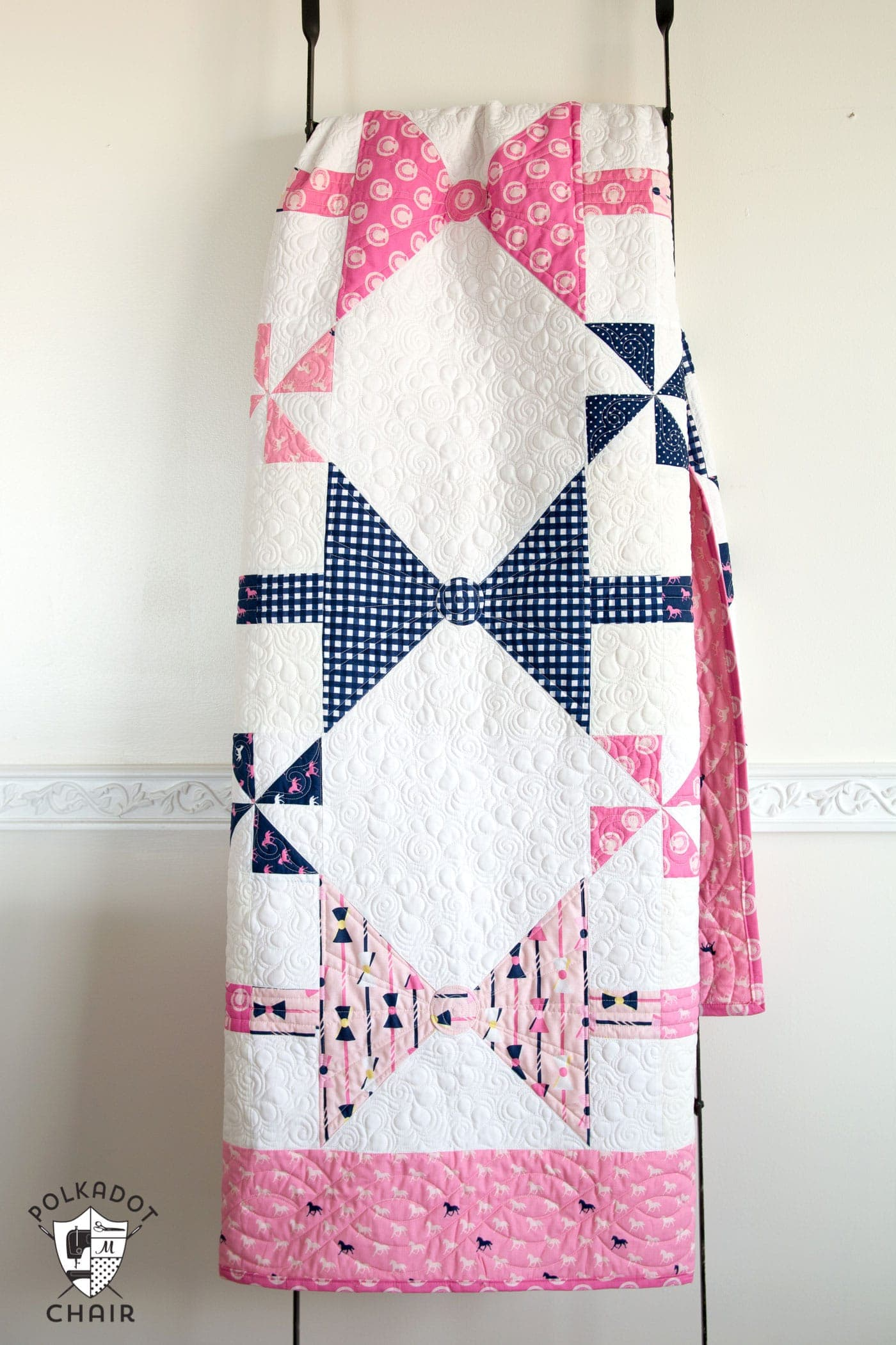 New Bow Tie Quilt Pattern - The Polka Dot Chair : tie quilt pattern - Adamdwight.com