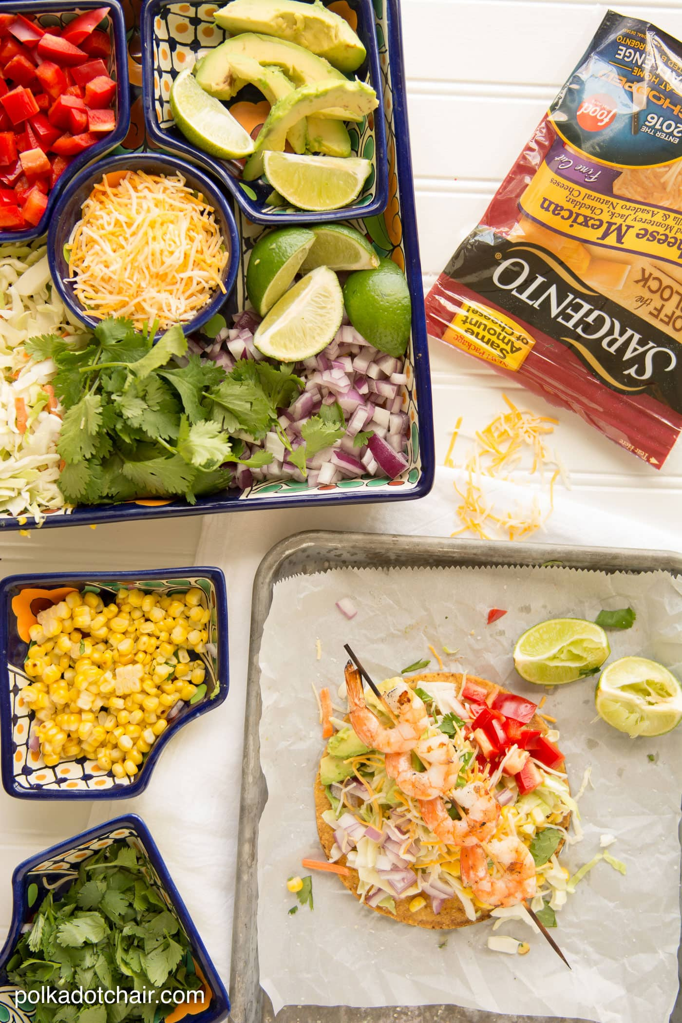 Grilled Shrimp Tostadas Recipe- great easy, fresh and simple Mexican ...