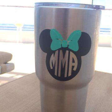 Monogrammed Disney Yeti Mug on polkadotchair.com