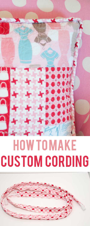 How to Make Custom Cording