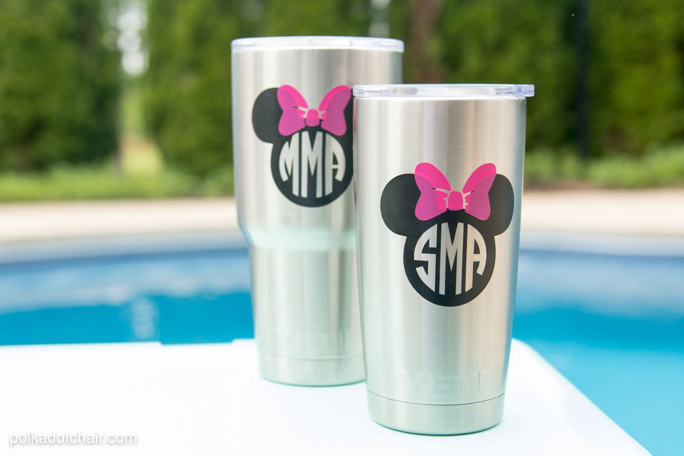 How To Add A Disney Monogram To Your Yeti (or Other Stainless Steel) Tumbler
