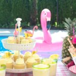 Summer Backyard Flamingo Pool Party Ideas
