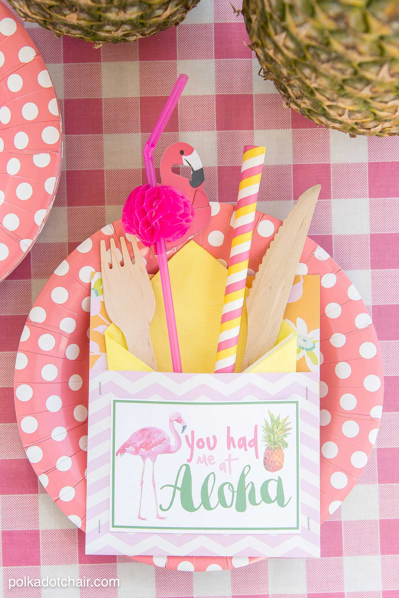 Summer Fun >> Summer Backyard Flamingo Pool Party Ideas - The Polka Dot Chair