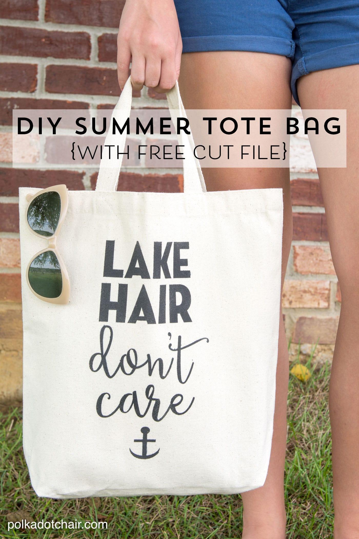 DIY Summer Tote Bag - The Idea Room