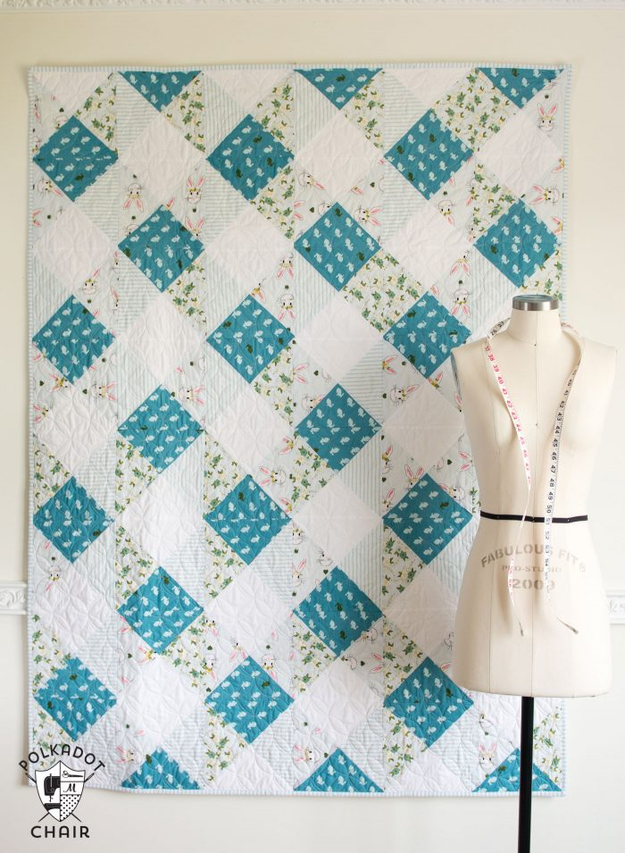 60 Easy Beginner Quilt Patterns And Free Tutorials Polka Dot Chair Delectable Quilt Patterns