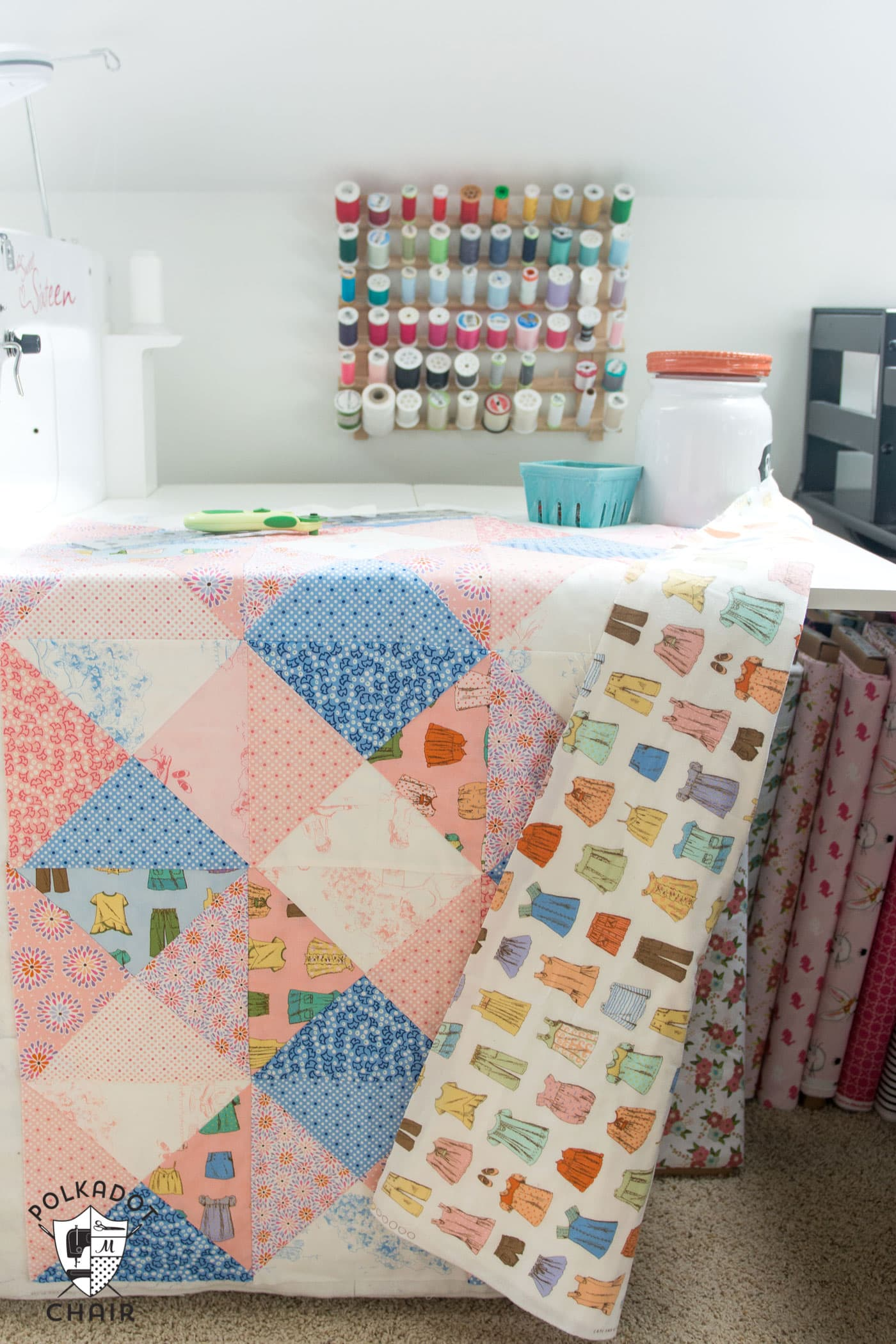 Popsicle Sleeve Tutorial Amp New Quilt Pattern The Polka