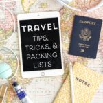 Airplane Travel Tips & Free Printable Packing List