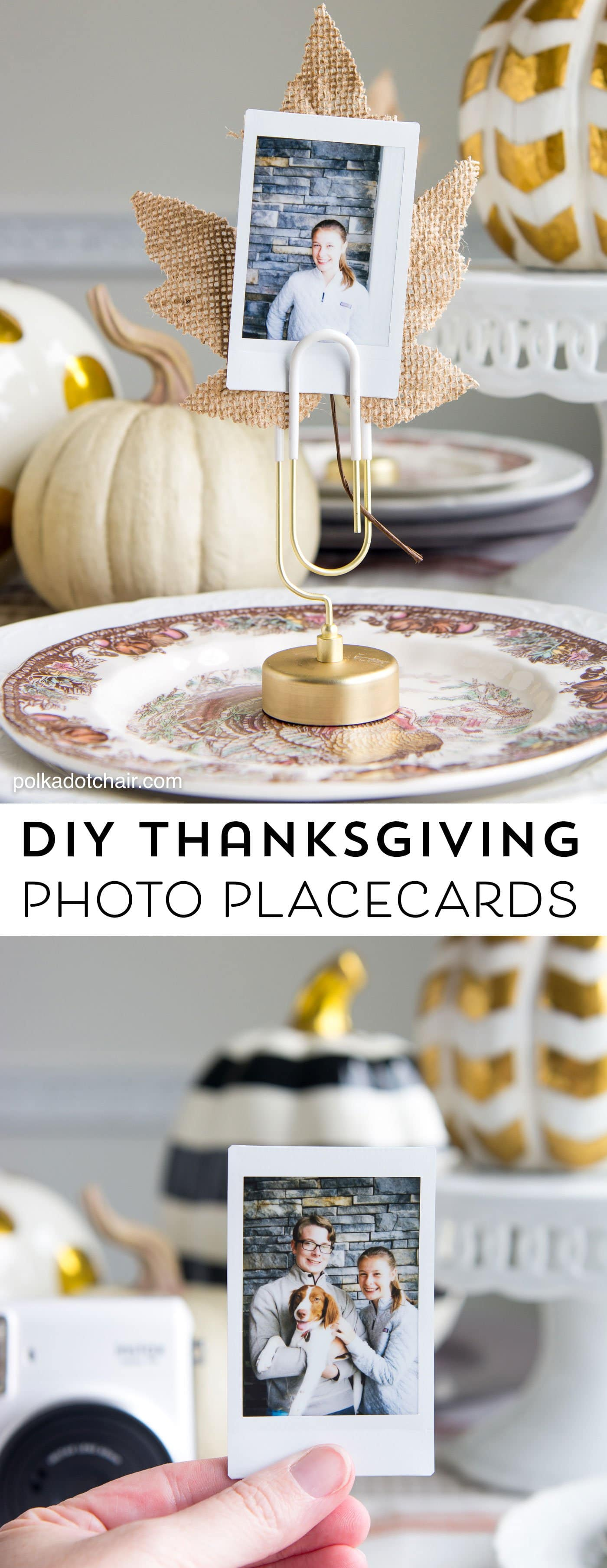 Christmas place card holders diy sweepstakes