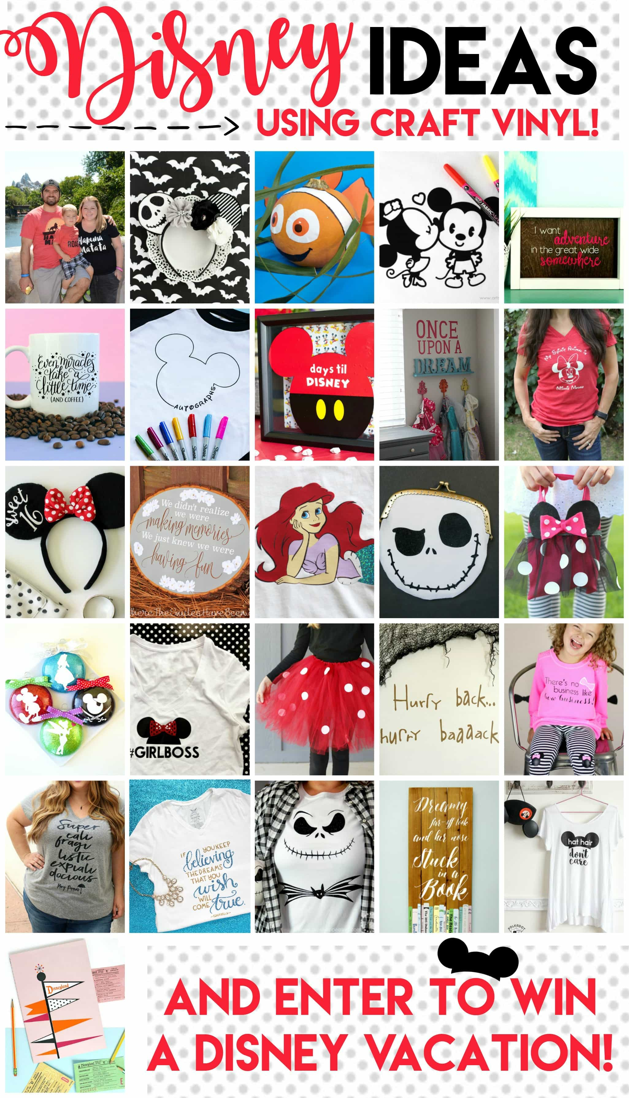 """Make your own DIY Disney T-shirt with this free cut file and iron on vinyl. Cute """"hat hair don't care"""" Mickey Ears Disney tshirt!"""