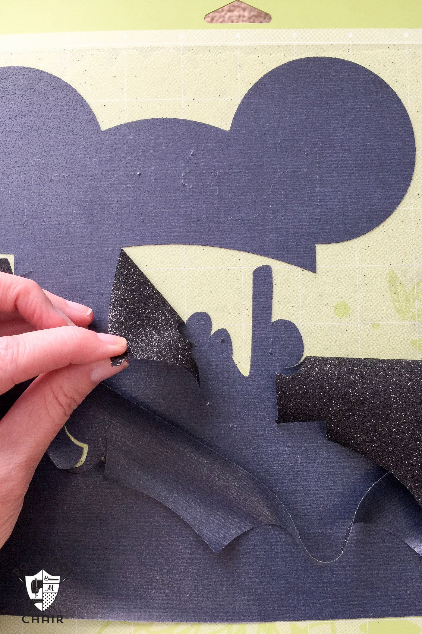 DIY Disney T-Shirt; Hat Hair, Don't Care - The Polka Dot Chair