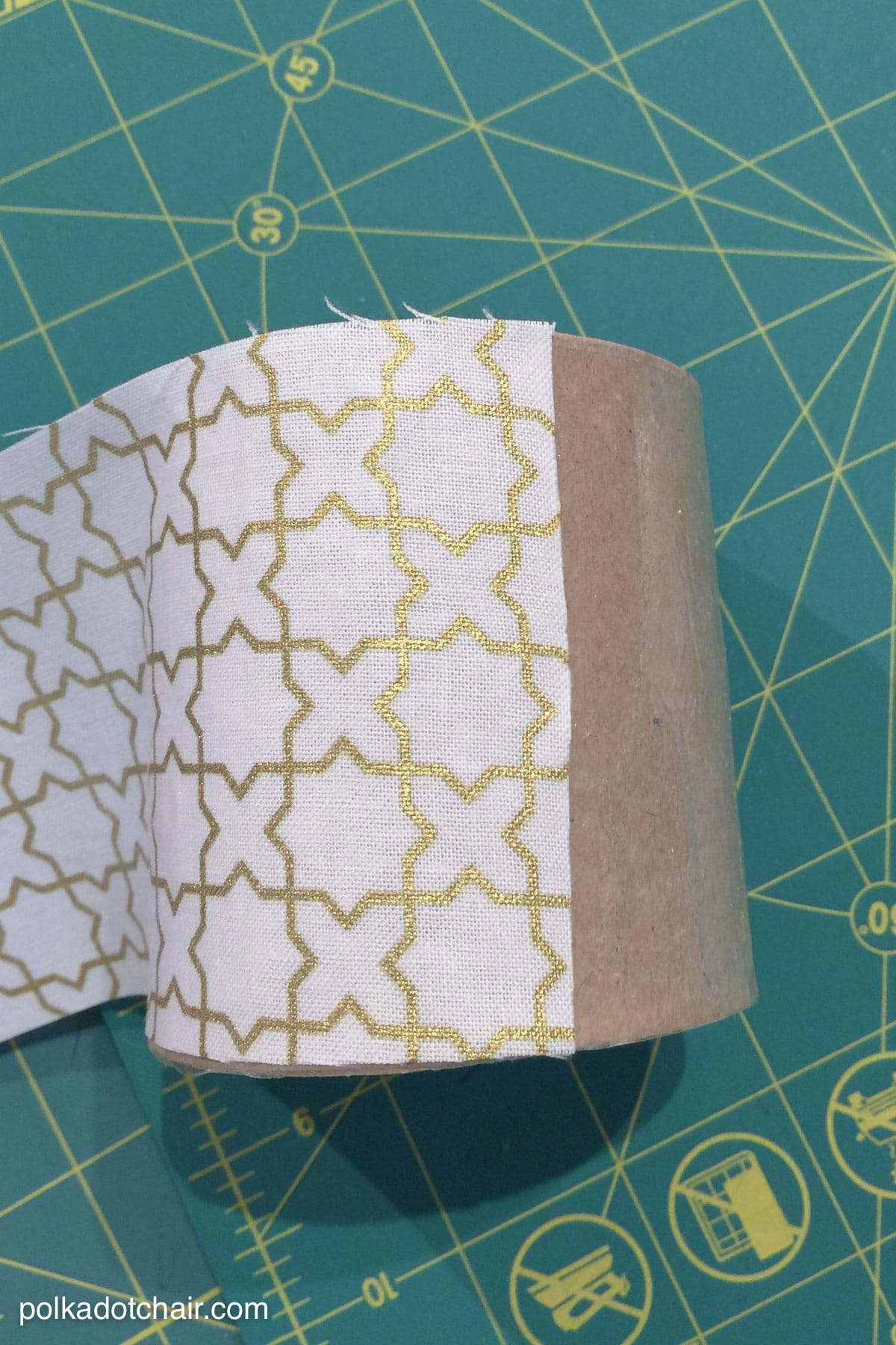 Learn how to cover paper mache boxes with fabric to make these cute DIY  storage containers