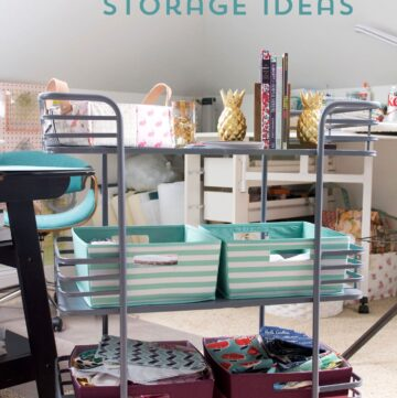 Cute & Clever Sewing Room Organization Ideas & HomeGoods Giveaway!