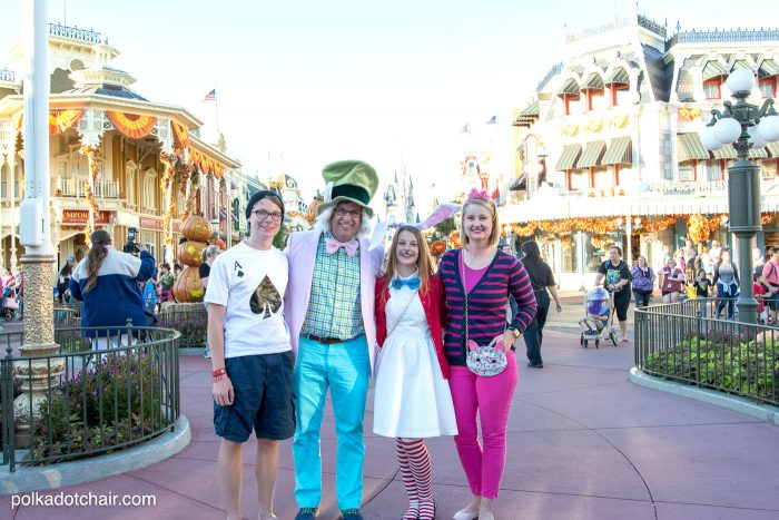 Matching Family Alice in Wonderland Costumes