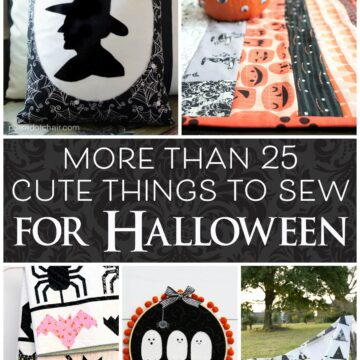More than 25 Cute Things to Sew for Halloween