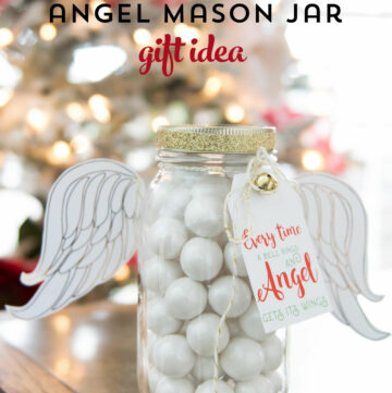 Angel Christmas Mason Jar Gifts