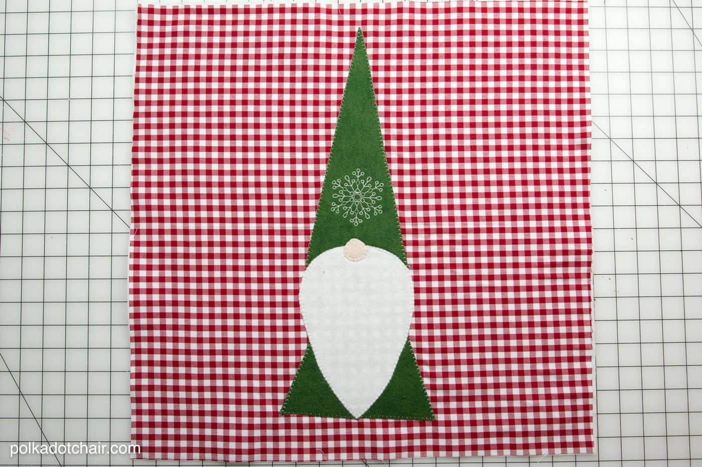 Tomte Christmas Gnome Pillow Pattern The Polka Dot Chair