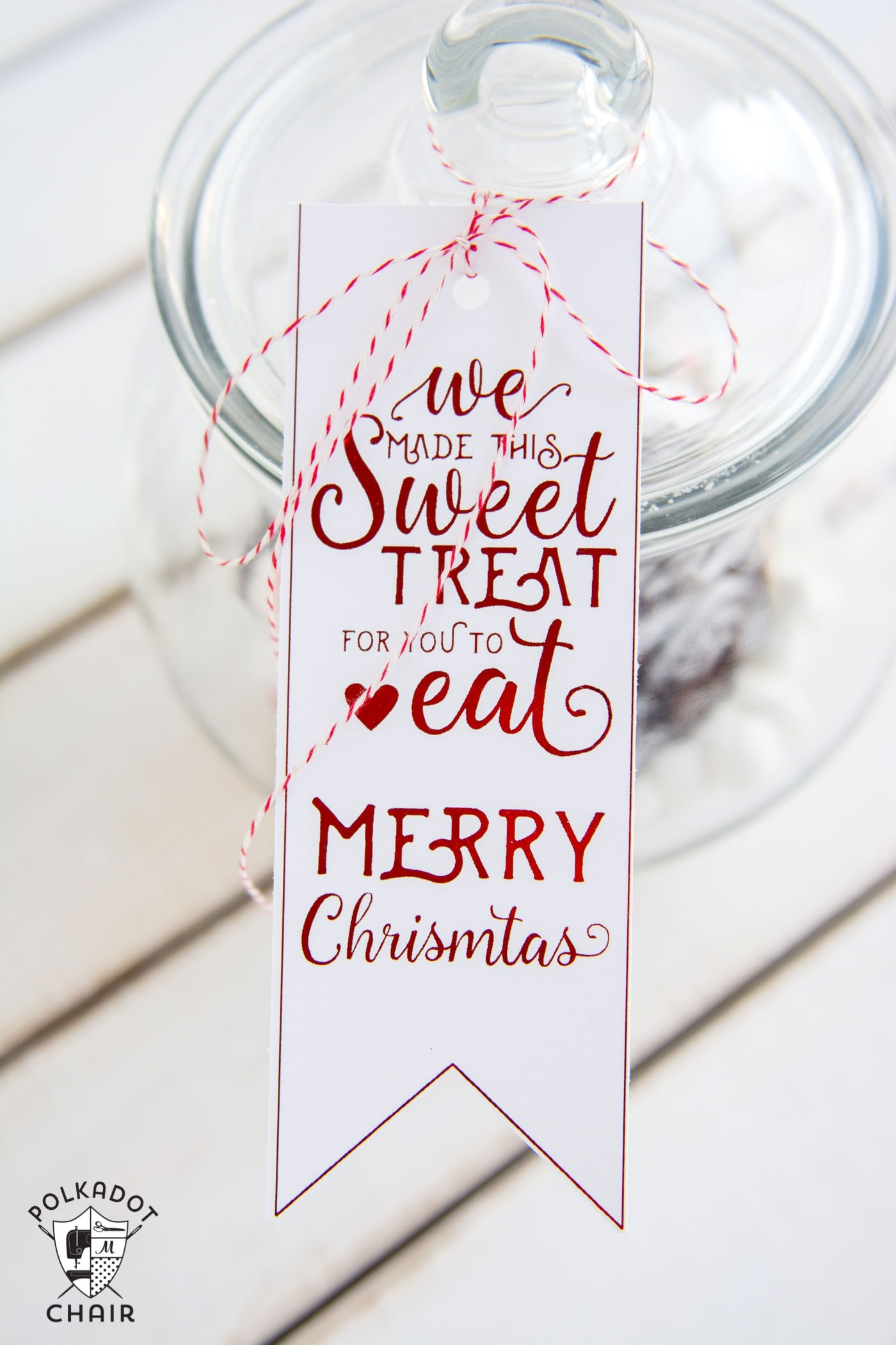 Cute DIY Gingerbread House Snow Globes and Free Printable ...