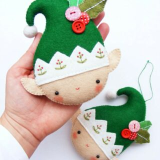 From stockings, to pillows, to ornaments and decorations. More than 25 cute things to sew for Christmas!