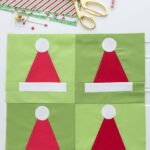 Santa Hat Quilt Blocks Pattern