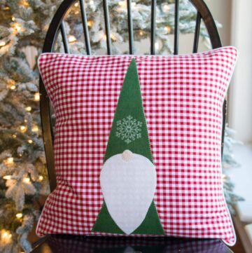 Tomte Christmas Gnome Pillow Pattern