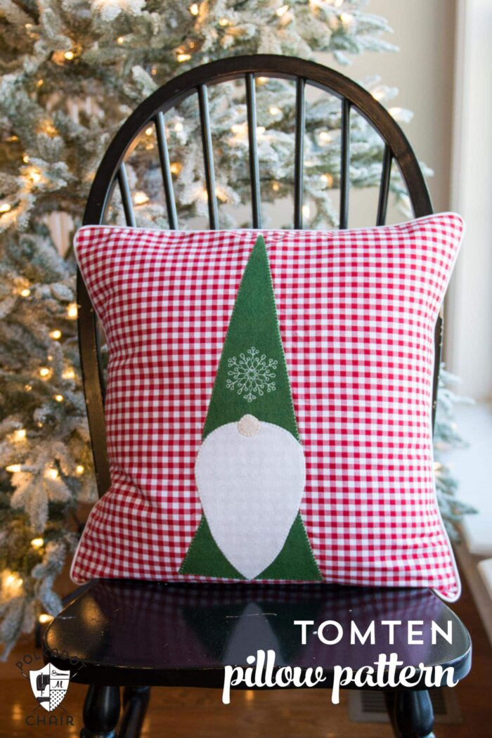 Free Sewing Pattern For A Tomten Christmas Gnome Pillow   Makes A Cute DIY  Christmas Decoration