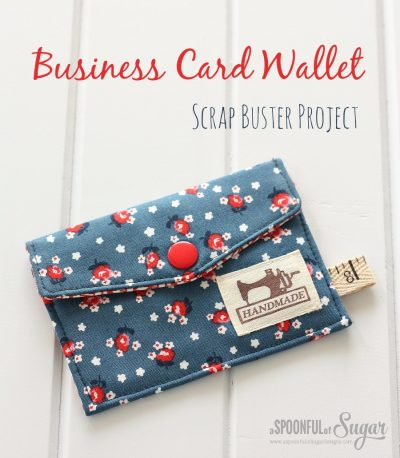 Business Card Wallet by Spoonful of Sugar