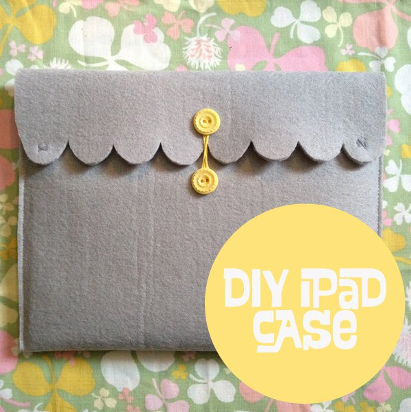 Vintage Style iPad Case tutorial