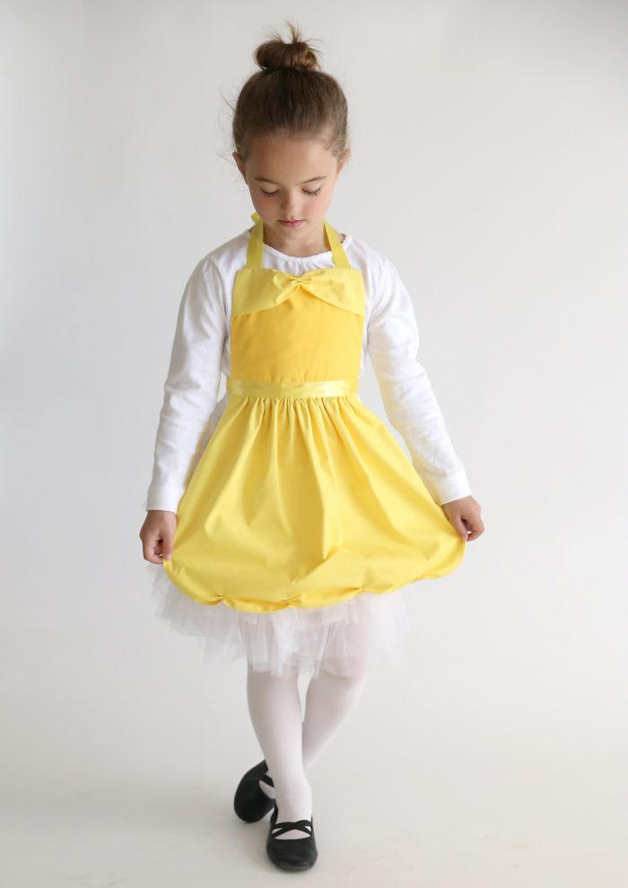 Belle Princess Dress up Apron by Itsalwaysautumn.com